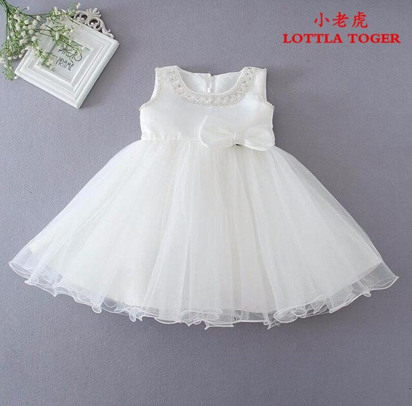 Bébé fille robe été 2017 princesse enfants vêtements costume de fête de mariage pour enfants 1 ans bébé filles robes d'anniversaire vestido