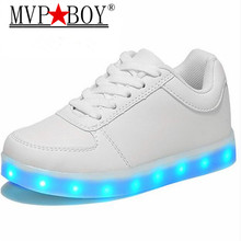 2017 High Quality Shoes Led Schoenen Women Light Up Chaussures For Woman Casual Shoes Luminous Adults Femme Lumineuse