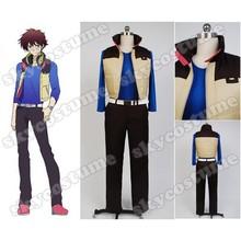 Hamatora Nice Shirt+Vest+Pants+Belt Anime Halloween Cosplay Costume For Men Free Shipping