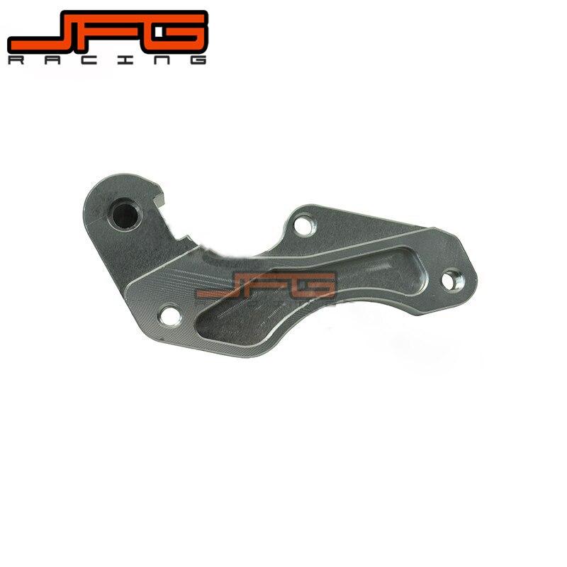JFG 320MM SUPERMOTO BRACKET FOR RM RMZ RMX DRZ 125 250 400 450 E S RM125 RM250 DRZ400 DRZ400E DRZ400S BRAKE DISC BRACKET ADAPTOR rm dr rm z 125 250 350 400 450 650 front brake pads