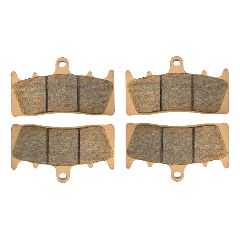 2 Pairs Motorcycle Brake Pads for SUZUKI GSX 1300 GSX1300 R/K6/K7 Hayabusa 1999-2007 Sintered Brake Disc Pad 2 pairs motorcycle brake pads for yamaha fzr 750 fzr750 genesis 1987 1988 sintered brake disc pad