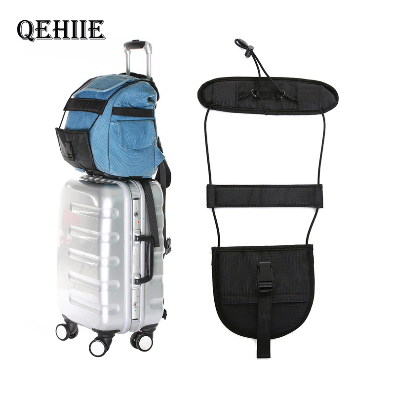 QEHIIE Elastic Telescopic Luggage Strap Travel Bag Parts