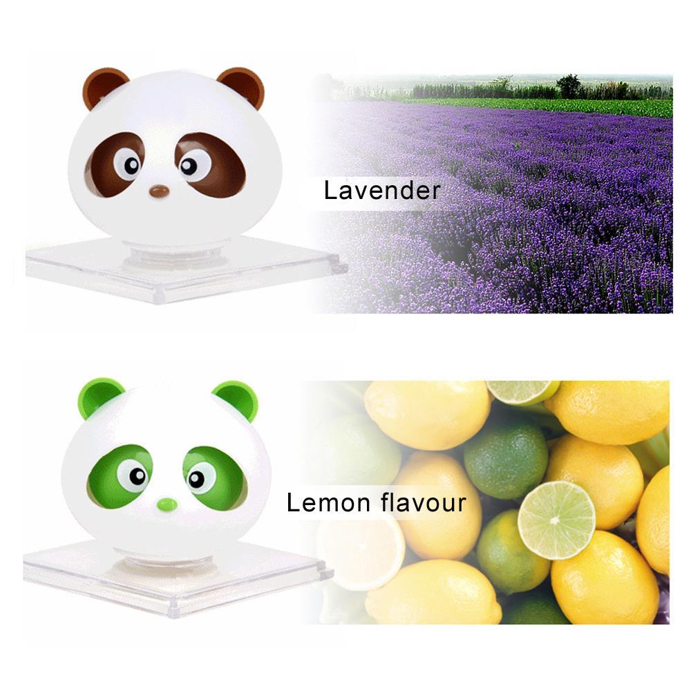 For Color Car air freshener angel Cute Panda fragrance perfume for women brand perfume fantasy parking imported car