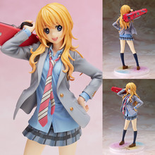 Limited Sales NEW Hot 20cm Your Lie in April Miyazono Kaori collectors action figure toys Christmas gift Toys without box new hot 22cm sexy adult daiki fadashi illustration muma astacia collectors action figure toys christmas gift doll
