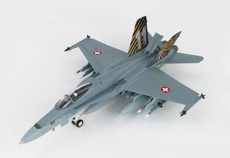 HM 1/72 F/A-18C hornet fighter NATO tiger club HA3536 Alloy collection model Holiday gift brand new 1 72 scale fighter model toys usa f a 18f super hornet fighter diecast metal plane model toy for gift collection