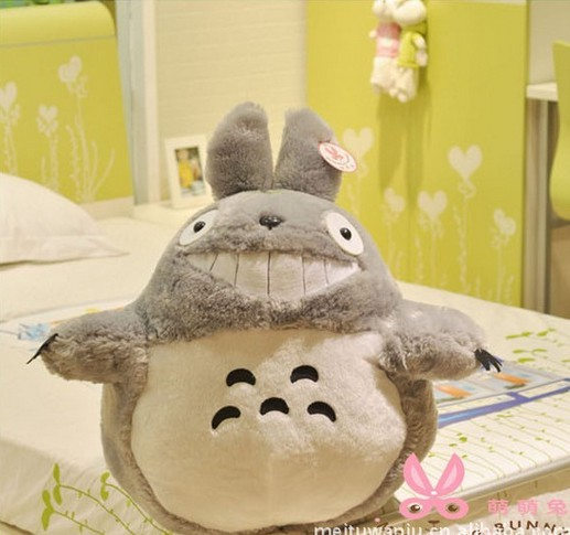 80cm-Cartoon totoro plush toy doll , lovers/christmas gifts birthday gift ,free shipping super cute plush toy dog doll as a christmas gift for children s home decoration 20