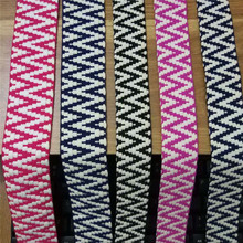 Cotton Ribbons 4CM and 3cm width Woven Webbing thread Ribbon Decorative Wedding Accessories DIY
