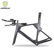 AERO версия триатлона велосипеды 49/52/54/56 см светильник карбоновая рама tt095 китайский BICICLETA карбоновая рама TT