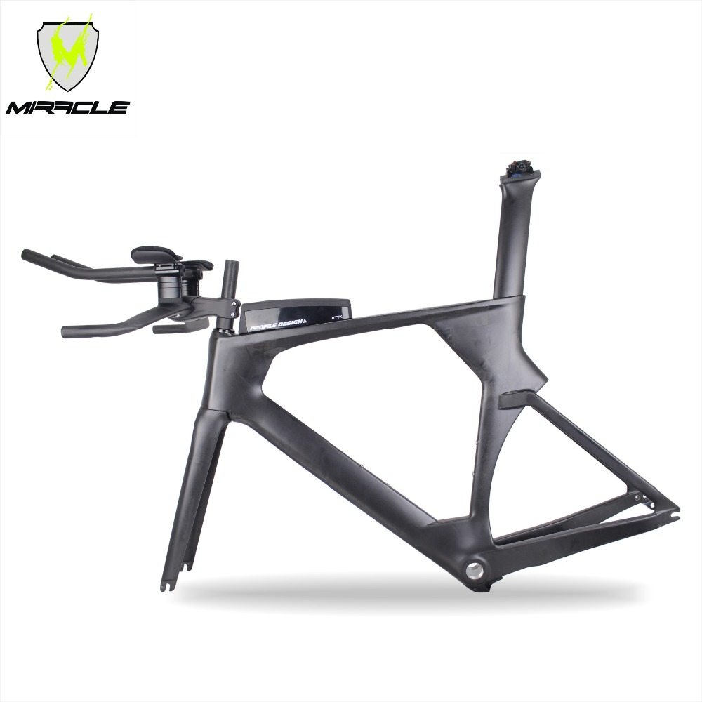 2018 new AERO version Triathlon Bikes 49/52/54/56cm light Carbon time trial Frame tt095 Chinese BICICLETA Carbon TT Frame адаптер питания для ноутбука pitatel ad 184