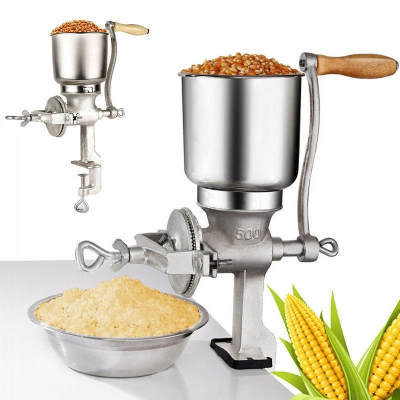 Manual Coffee Grinders Mill Stand Operation Coffee Bean Grinder Sesame Grinders