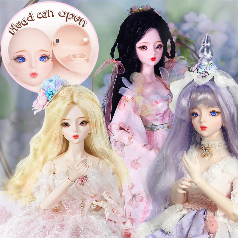 DBS 1/3 BJD Doll Mechanical Joint Body,Including Wig,eyes,clothes,shoes AI YoSD MSD SD Kit Toy Gift DC Lati
