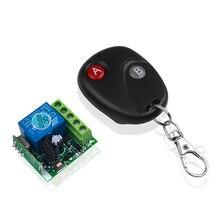 Kebidu 433Mhz Universal Wireless Fernbedienung Schalter RF Sender Relais Empfänger Modul Elektrische Kopie Controller Klonen