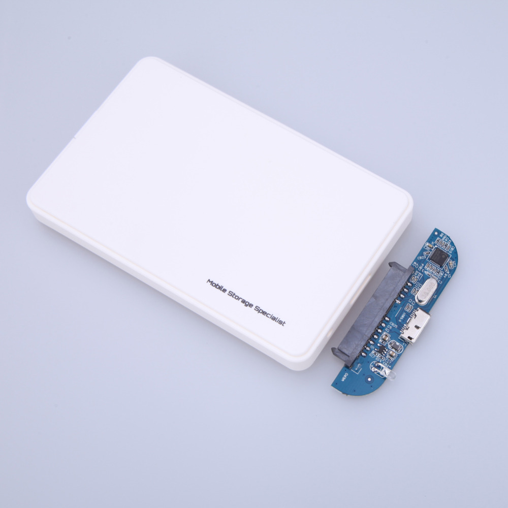 Valge kõvaketta karp SATAUSB 3.0 HDD kõvaketas Väliskarbi ümbris - Arvuti komponendid - Foto 6