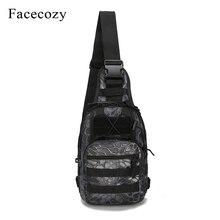 Facecozy Военная Рыболовная Сумка, водонепроницаемый рюкзак для альпинизма, тактический рюкзак для кемпинга, камуфляжная Рыболовная Сумка