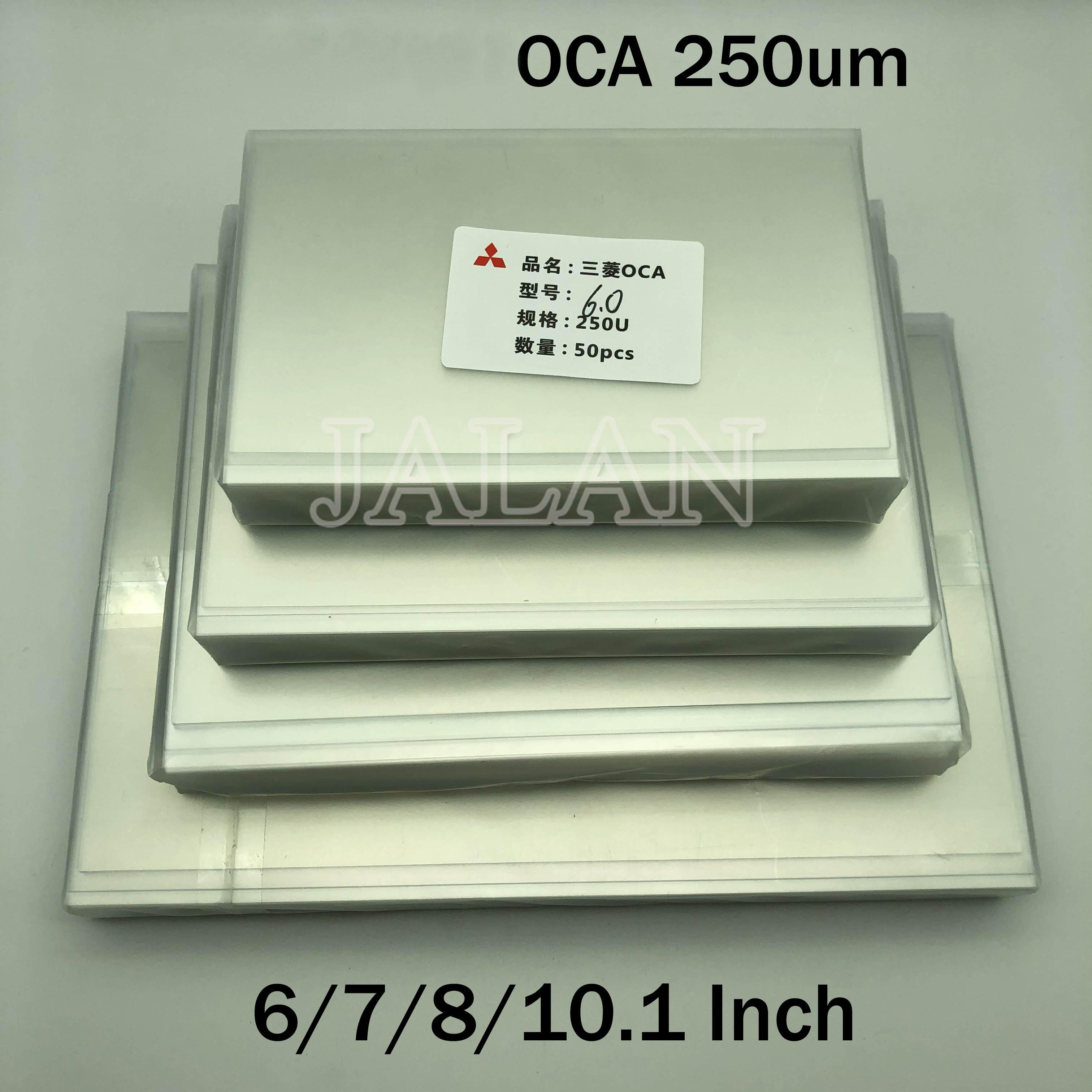 250um OCA Glue For Ip 6/7/7.9/8/9.7/10.1/12.9/15.6 Inch Touch Screen Glass Oca Laminating Lcd Repair For Mitsubishi Oca Adhesive