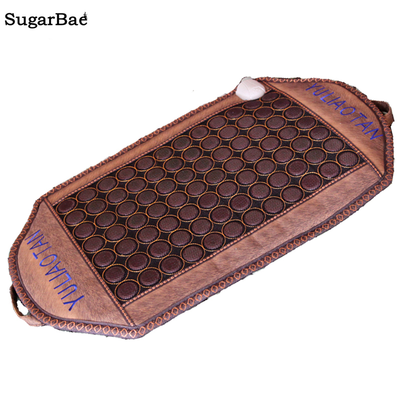 Tourmaline Stone Massage Mat Far Infrared Heating Thermal Physiotherapy Jade Mat Health Care Mattress High Quality Made In China health care heating jade cushion natural tourmaline mat physical therapy mat heated jade mattress high quality made in china page 1