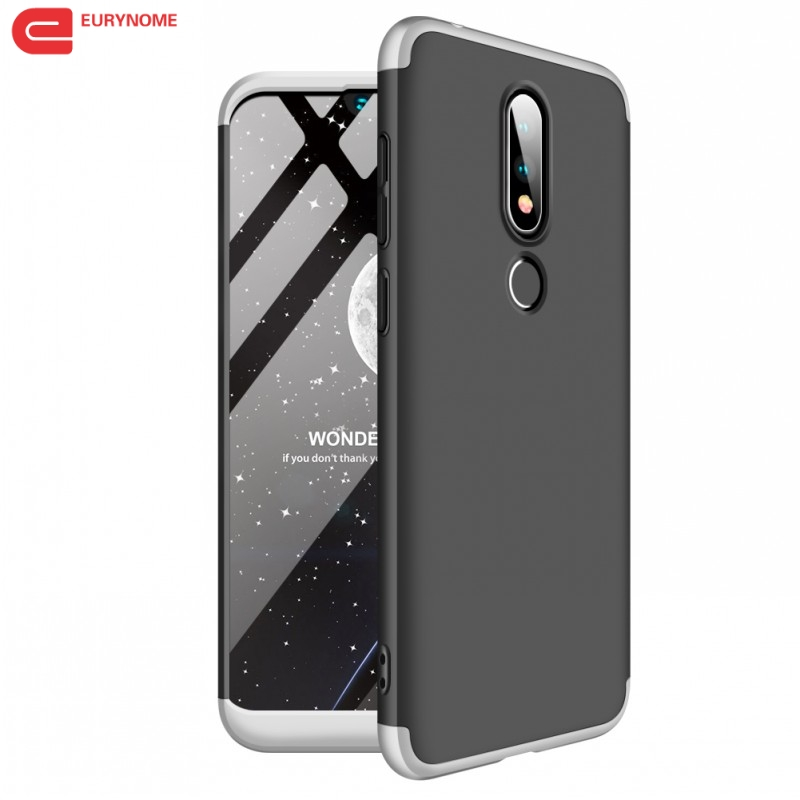 Quality In Case For Nokia 8.1 6.1 2018 Case Full Protective Anti-knock Hard Matte 3 In 1 Cover For Nokia X7 6 2018 Ta-1068 Ta-1043 Case Excellent
