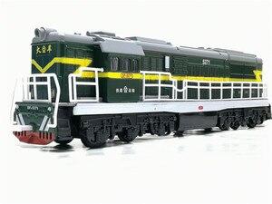 Image 3 - 1:50ダイキャストおもちゃモデル中国古典東風5271機関車古典的な音と光のおもちゃ送料無料