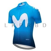 2019 Movistar Cycling Jersey Summer Racing Clothing Ropa Ciclismo Short Sleeve mtb Bike Shirt Maillot
