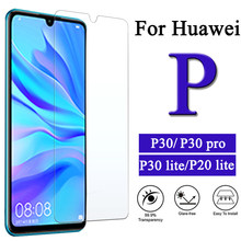 Huawei P30 Pro Protective Glass On For P20 Lite Tempered Glas Huawey Hawei P 30 20 P30pro P30lite P10lite Screenprotector Verre(China)