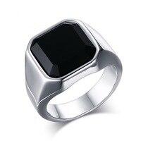 316L stainless steel ring men ring fashion gold color violent ring for men J240
