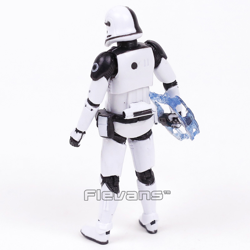 Star Wars 8 The Last Jedi Stormtrooper First Order Executioner PVC Action Figure Collectible Model Toy 10cm
