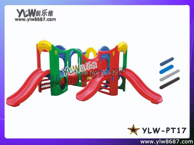 Jouets pour enfants pour parc de jeux intérieur, toboggans pour enfants pour aire de jeux bébé, jouets en plastique d'amusement