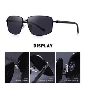 Image 2 - Merrys DESIGN Classic Square แว่นตากันแดด Polarized สำหรับขับรถกีฬากลางแจ้ง Ultra   light UV400 ป้องกัน S8131