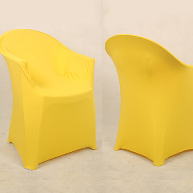 Delicieux Spandex Arm Chair Cover Banquet Chair Cover With Arm For Plastic Outdoor  Chair
