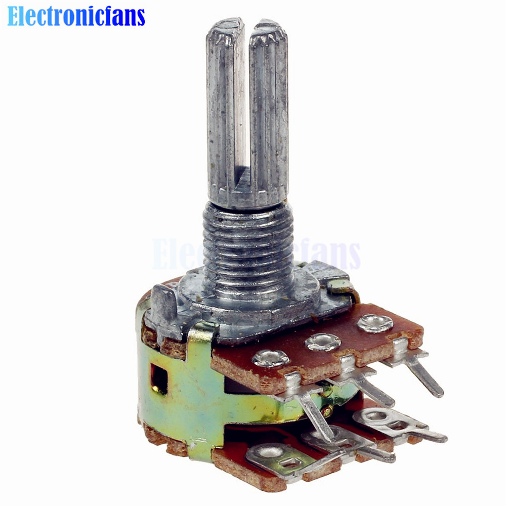 10k Ohm Potentiometer Schematic Basic Guide Wiring Diagram For Get Free Image About 5pcs Lot B10k 6 Pins Split Shaft Rotary Linear Rh Aliexpress Com Pin With Switch