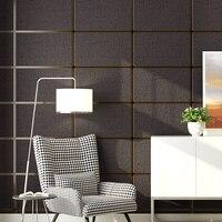 Modern Geometric Pattern Marble Lattice 3D Stereoscopic Non woven Wallpaper Living Room Bedroom TV Background Wall Paper Rolls