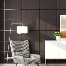 Papel tapiz estereoscópico 3D con entramado de mármol con patrón geométrico moderno, papel tapiz no tejido para sala de estar, dormitorio, TV, rollos de papel de pared