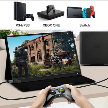 Ultrathin 15.6inch narrow border screen 1080p ips ps3 ps4 switch gaming portable monitor hdr 4
