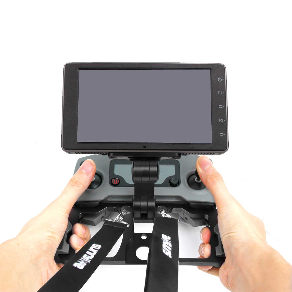 e59a9327f7c ... DJI Mavic 2 Remote Controller Tablet Stand CrystalSky Monitor Bracket  Clip Phone Metal Mounting Holder for ...