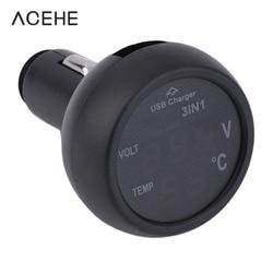 3 in 1 digital car voltmeter led voltimetro 12v 24v thermometer in the auto cars.jpg 250x250