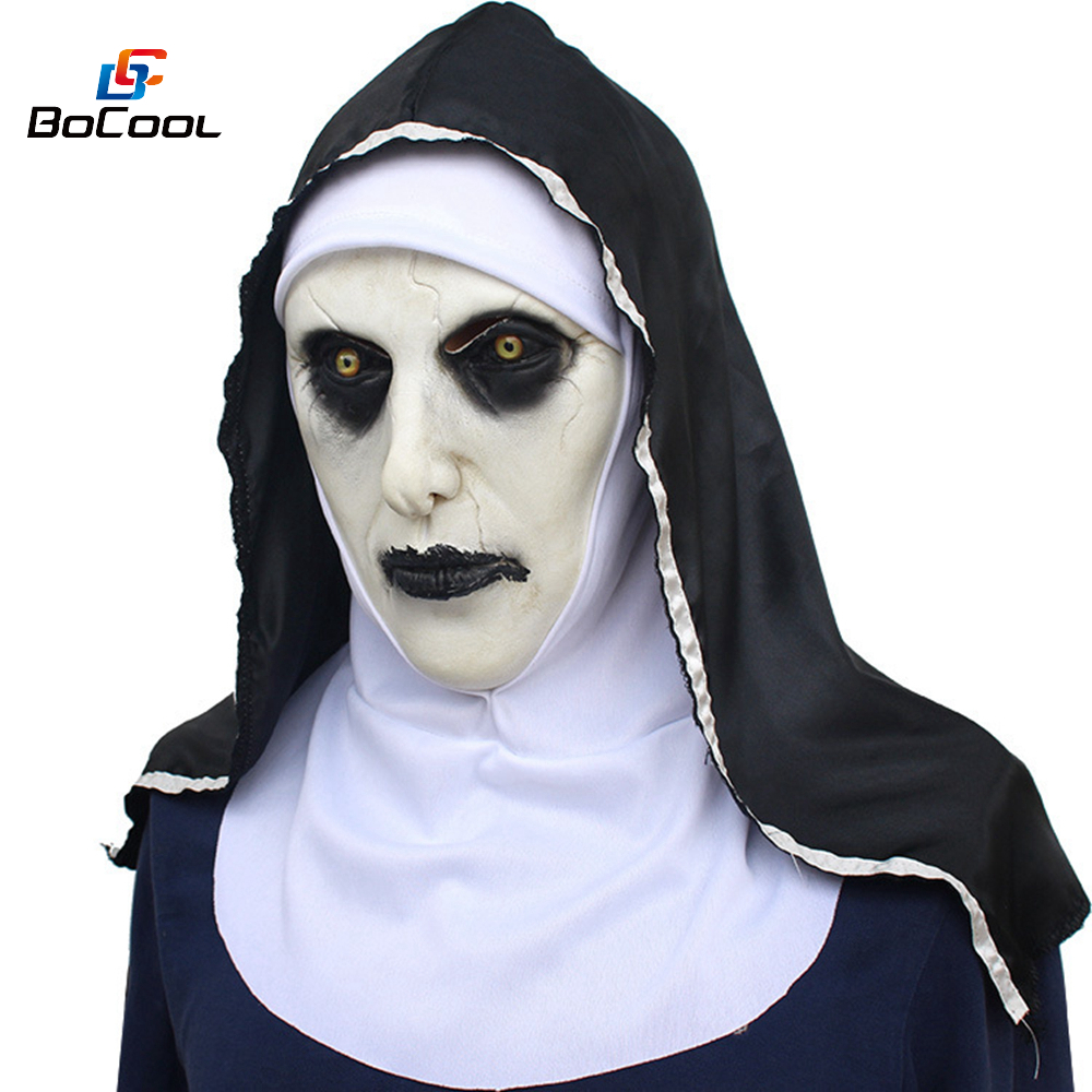 aliexpress : buy roolina the nun valak mask deluxe latex scary