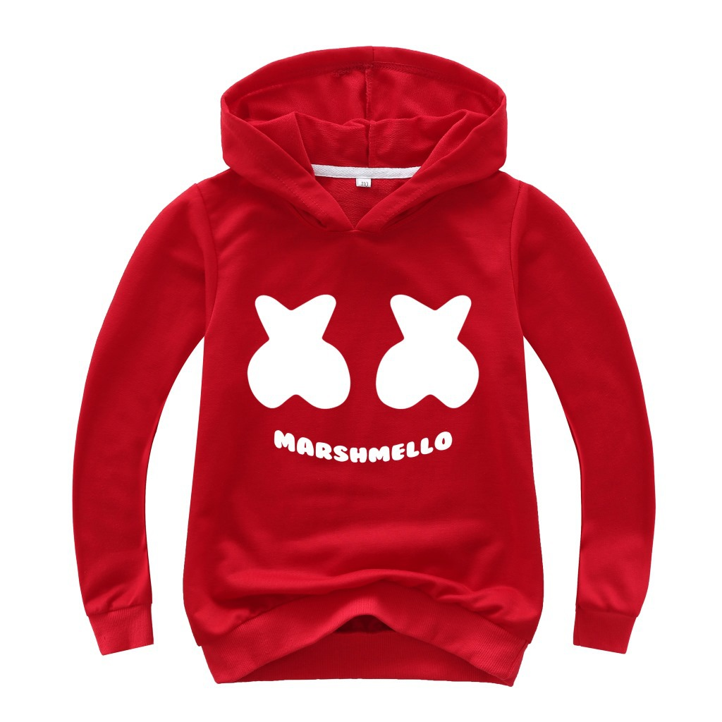 3D Print Pullover Hoodies with Pocket Sea Shell Red Soft Fleece Hooded Sweatshirt for Youth Teens Kids Boys Girls 7-20 Years