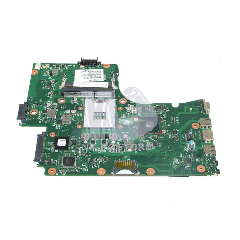 NOKOTION V000225000 Main Board For Toshiba Satellite C655 Laptop Motherboard 6050A2355202 HM55 DDR3 GMA HD Full Tested nokotion genuine h000064160 main board for toshiba satellite nb15 nb15t laptop motherboard n2810 cpu ddr3