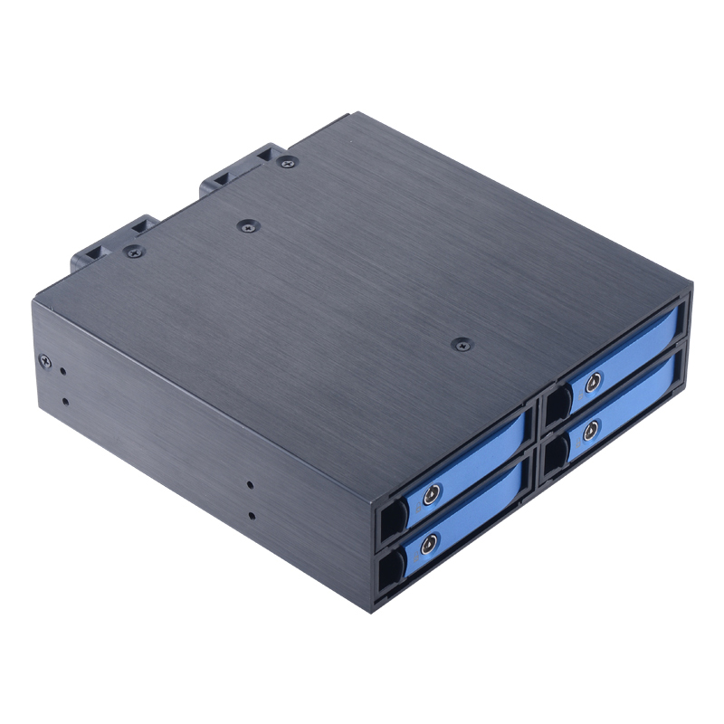optibay 2.5in 4bay SATA hard drive case backplane hdd 2.5 ssd bay Internal HDD mobile rack for 5.25 drive bay internal hdd drive for a6194a a6194 69002 73g 10k fc well tested working
