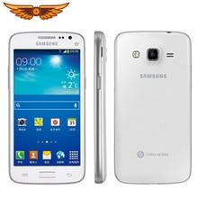 Разблокированный samsung Galaxy Win Pro G3818 четырехъядерный 4,5 дюймов 5Мп камера 1 ГБ ОЗУ 4 Гб ПЗУ с одной sim-картой мобильный телефон