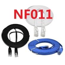 NF011 Лучшая цена! 1 m/2 m/3 m/5 m/10 m/15 m/20 M RJ45 CAT6 сети Ethernet LAN кабель Плоский Патч Кабель UTP маршрутизатор интересные много наивысшего качества
