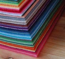 88 cores de feltro tecido poly diy não-tecido 15 cm x 15 cm frete grátis multi cores boa qualidade venda quente
