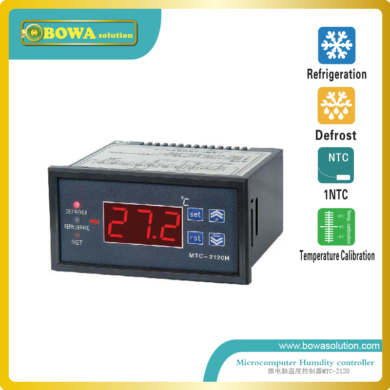 Microcomputer Temperature Controllers for mobile cold room or island freezer and deli cabinet in supermarket  цены