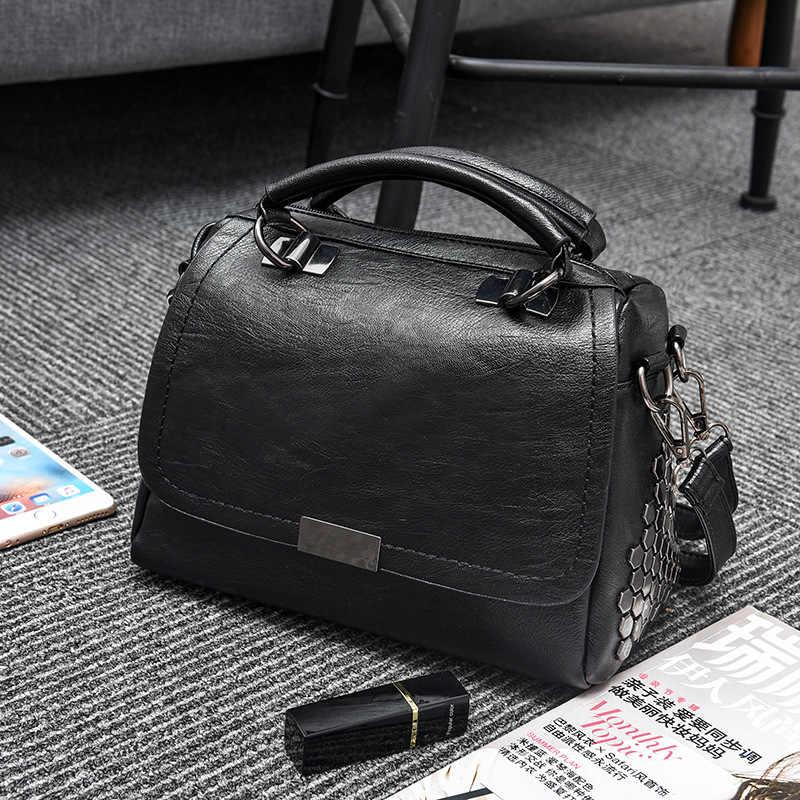 Brand Kleine Schoudertas Voor Vrouwen Messenger Bags Dames Retro Lederen Handtas Portemonnee Vrouwelijke Crossbody Multifunctionele Bolsas C907