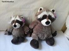 stuffed animal plush 35cm 45cm cute raccoon plush toy birthday gift w822