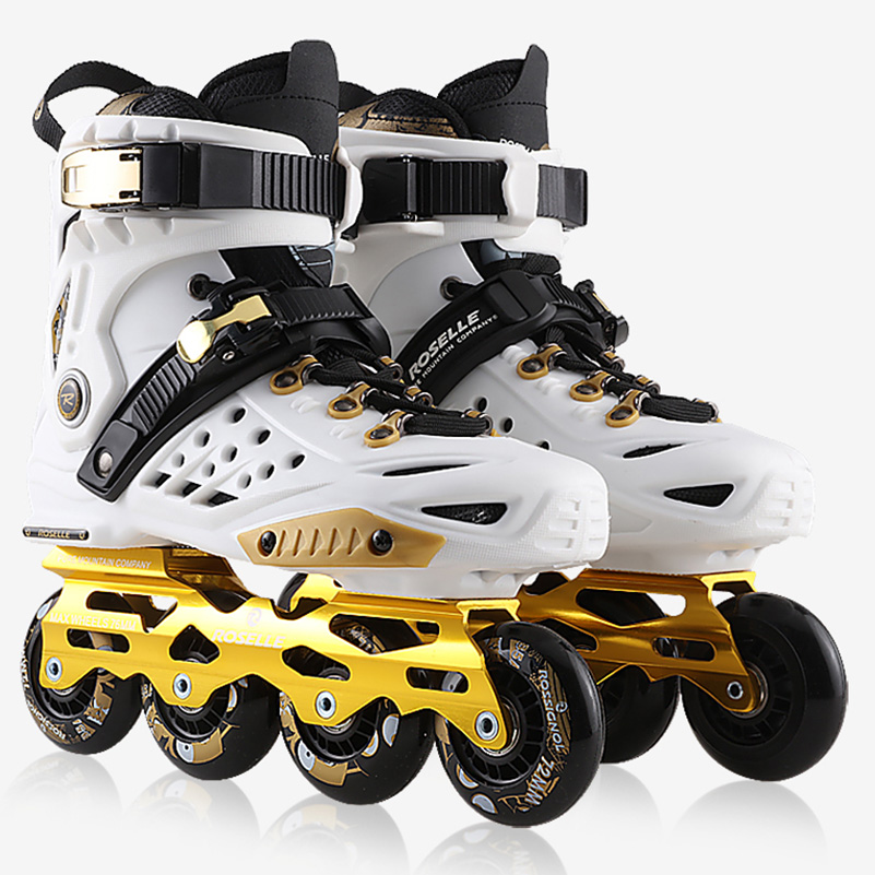 Hot Sale Adult Women Men Professional Roller Skating Inline Skates Shoes Durable Slalom/Braking/FSK Hockey Patines Rollerblading цена 2017
