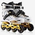 Hot Sale Adult Women Men Professional Roller Skating Inline Skates Shoes Durable Slalom/Braking/FSK Hockey Patines Rollerblading