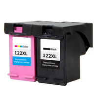 2pcs Ink Cartridge Replacement For HP 122 XL Compatible For Deskjet 1000 1050 2000 2050 2050s