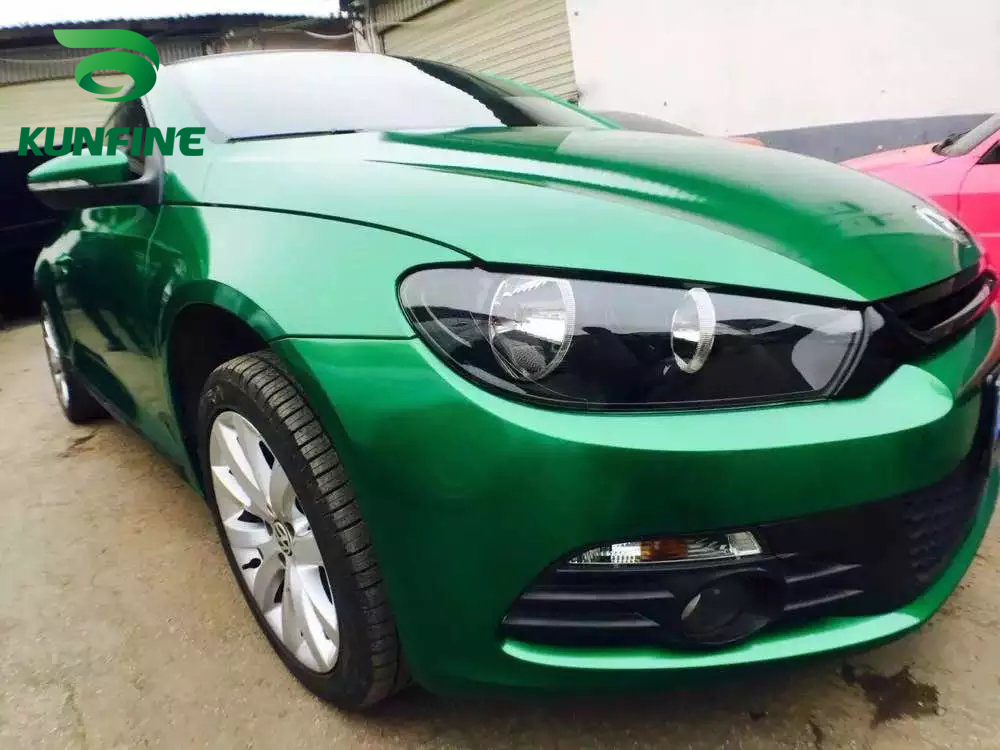 Car Styling Wrap Aurora Green Car Vinyl film Body Sticker Car Wrap With Air Free Bubble For Vehiche 1.52*20 M / Roll car styling wrap glossy green car vinyl film body sticker car wrap with air free bubble for vehiche motorcycle 1 52 20m roll