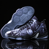 Mens Jordan Basketball Shoes Breathable Non slip Basketball Sneakers Men Lace up Gym Ankle Boots Shoes Professional Basket Homme
